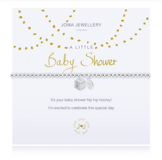 """A Little Baby Shower"" Bracelet"