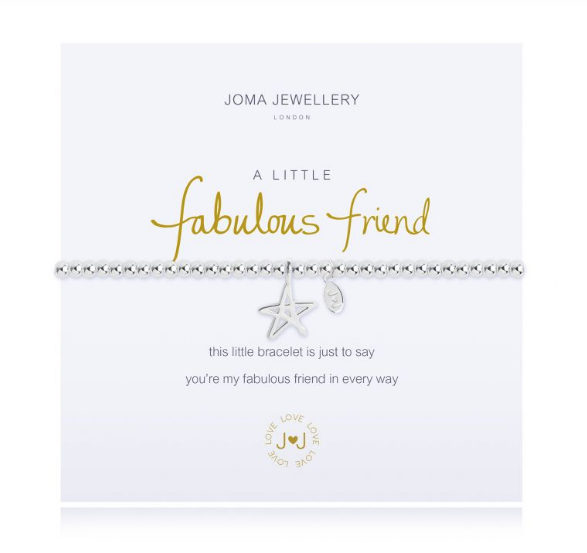"""A Little Fabulous Friend"" Bracelet"