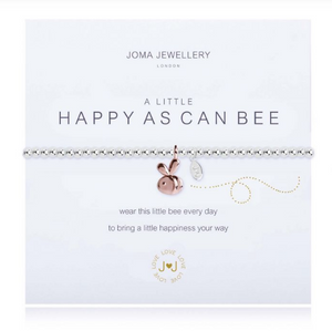 """A Little Happy As Can Bee"" Bracelet"