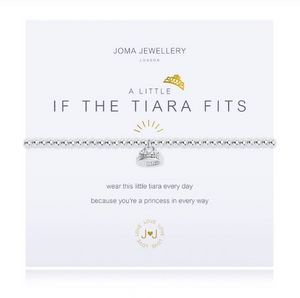 """A Little If The Tiara Fits"" Bracelet"
