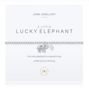 """A Little Lucky Elephant"" Bracelet"