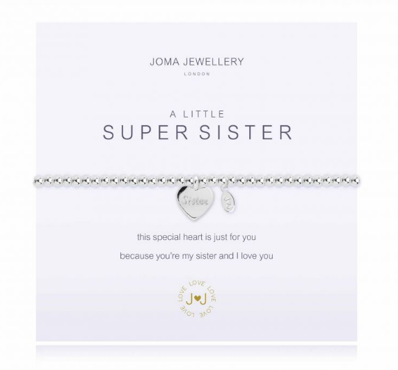 """A Little Super Sister"" Bracelet"