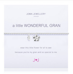 """A Little Wonderful Gran"" Bracelet"