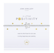 "Load image into Gallery viewer, ""A Little Positivity"" Bracelet"