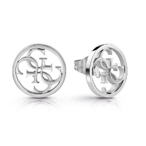 Guess Equilibre 4G Logo Stud Earrings