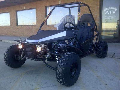 New Adult - Kandi 200cc GKM-2 - 200cc Go Kart - Free Shipping Wholesale ATV
