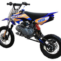 New 125CC Manual Clutch Coolster QG-214 Mid Size Dirt Bike