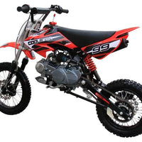 New 125CC Semi-Automatic Coolster 214S Mid Sized Dirt Bike