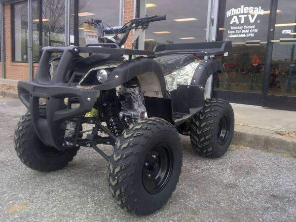 New Adult Utility 150cc - Tao Tao 150D - ATV Four Wheeler w Reverse - CA Carb Approved - Free Shipping atvs Wholesale ATV