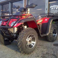 New 300cc - Buyang Monster 300 - Adult 4x4 Utility ATV - Free Shipping atvs Wholesale ATV Red