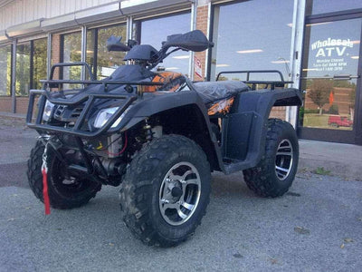 New 300cc - Buyang Monster 300 - Adult 4x4 Utility ATV - BLACK - LFYGVT388H3A00277 - A Wholesale ATV Black