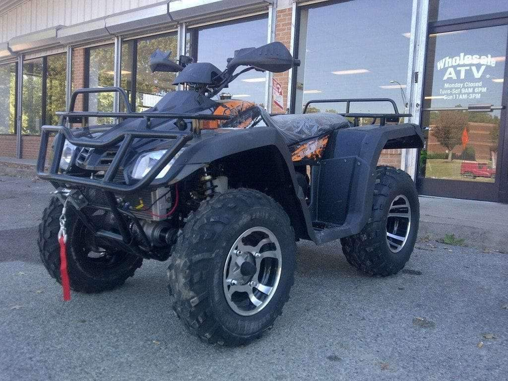 New 300cc - Buyang Monster 300 - Adult 4x4 Utility ATV - Free Shipping atvs Wholesale ATV Black