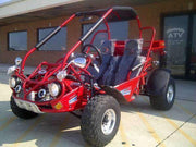 New 300cc - Trailmaster 300-XRS/XRX - Go Kart w/Reverse - CA Carb Approved - Free Shipping go kart Wholesale ATV red XRX