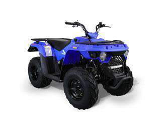 New Youth Utility 150cc - Bennche Grey Wolf 150 - Youth Y12 ATV Four Wheeler w Reverse - CA Carb Approved