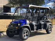New 400cc - Cazador 400 EFI Limo 2wd/4wd - 6 Person Golf Cart UTV - Free Shipping utvs Wholesale ATV