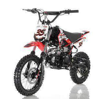 New 125cc Youth - Apollo DB35 - 125cc Dirt Bike - CA Carb Approved - Free Shipping dirt bike Wholesale ATV