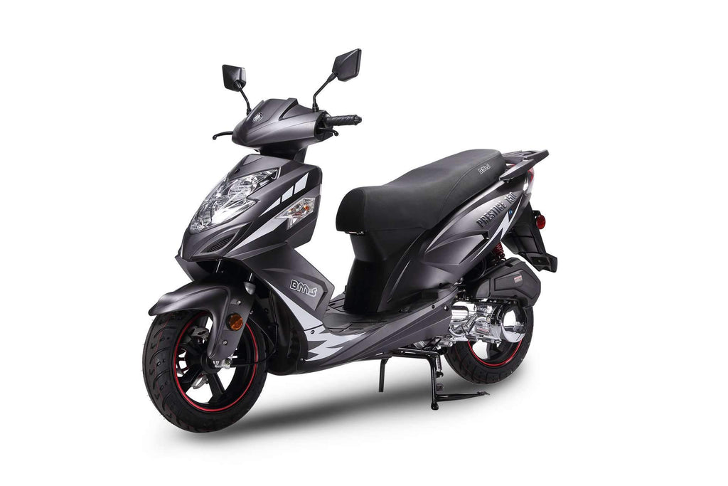 New 150cc- BMS PRESTIGE 150 - Sport Style Scooter - CA Carb Approved