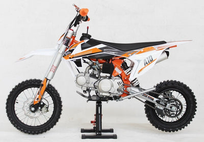 New 125cc Youth - EGL A10 PRO-  4 Speed Manual Dirt Bike