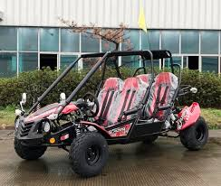 New 200cc - Trailmaster Blazer4 200EX - 4 Seater Go Kart - CA Carb Approved