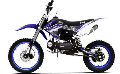 New 125cc- BMS PRO X125  - 4 SPEED MANUAL  Dirt Bike