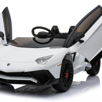 Mini Moto Lamborghini 12v White (2.4ghz Rc)
