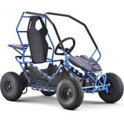 New Kids Electric Go Kart Maverick 1000w Blue
