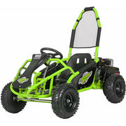 Mototec Mud Monster 98cc Go Kart Full Suspension Green
