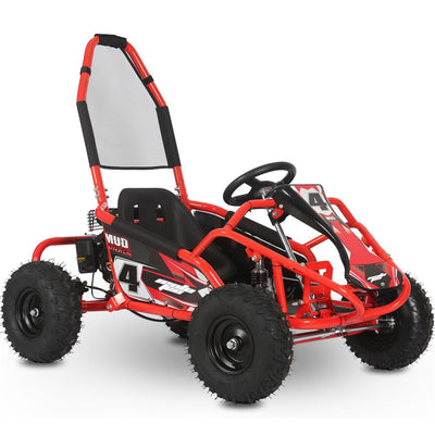 Mototec Mud Monster 98cc Go Kart Full Suspension Red