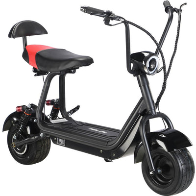Mototec Mini Fat Tire 48v 500w Electric Scooter Black
