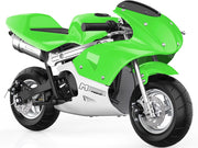 Mototec Phantom Gas Pocket Bike 49cc 2-stroke Green