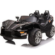 Mototec Sling 12v Kids Car Black (2.4ghz Rc)