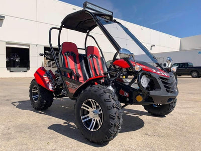 New 200cc - Trailmaster Blazer 200X- Go Kart w/Reverse - CA Carb Approved