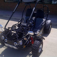 New 150cc - Trailmaster 150-XRS/XRX - Go Kart w/Reverse - CA Carb Approved - Free Shipping go kart Wholesale ATV black XRX