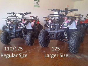 New Larger Youth - Coolster 3125XR8 - 125cc Kids ATV Utility - CA Carb Approved - Free Shipping atvs Wholesale ATV Pink Army camo