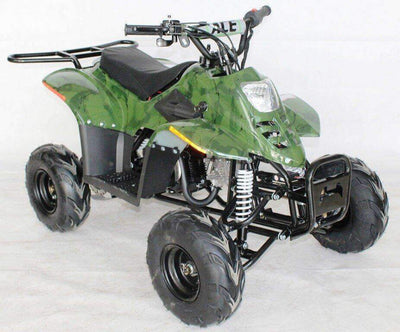 New 110cc - ACE D110 - Fully Auto Youth ATV with Headlight & Rack