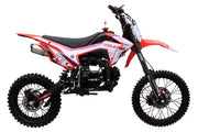 New Coolster M-125 Manual Clutch Mid Size 125cc Dirt Bike