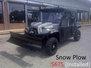 New 1000cc - Massimo Dominator X4 1000cc LT - Long Travel 4 Door UTV