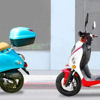 New Icebear SHADOW (PMZ50-1) - 50cc Fully Automatic Sport Style Scooter
