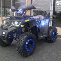 New Adult 200cc Utility - TaoTao Raptor200 - ATV - CA Carb Approved - Free Shipping atvs Wholesale ATV Blue