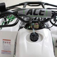 New Larger Youth - Ace T125 Thor - 125cc Kids ATV Utility - CA Carb Approved