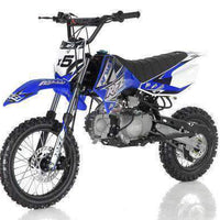 New 125cc Youth - Apollo DBX5 - 4 Speed Manual Dirt Bike - Free Shipping dirt bike Wholesale ATV blue