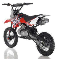New 125cc Youth - Apollo DBX5 - 4 Speed Manual Dirt Bike - Free Shipping dirt bike Wholesale ATV red