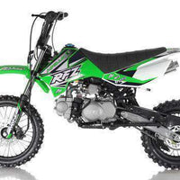 New 125cc Youth - Apollo DBX5 - 4 Speed Manual Dirt Bike - Free Shipping dirt bike Wholesale ATV green