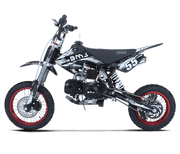 New 125cc- BMS PRO PREMIUM 125  - 4 SPEED MANUAL  Dirt Bike