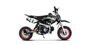 New 70cc- BMS PRO 70 SEMI - Semi Auto Youth Dirt Bike
