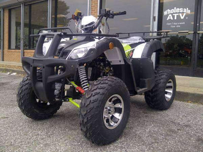 New Adult Utility - Tao Tao Bull200 - 200cc Fully Auto ATV - Free Shipping atvs Wholesale ATV green