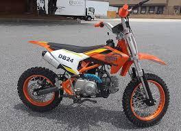 New Tao Tao DB24 - 110cc Semi-Auto Youth Dirtbike
