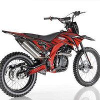 New Apollo DB36 - 250cc Dirt Bike - CA Carb Approved