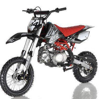 New Adult Size - Apollo DBX14 - 125cc Semi-Auto Dirt Bike - Free Shipping dirt bike Wholesale ATV Black