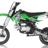 New Adult Size - Apollo DBX14 - 125cc Semi-Auto Dirt Bike - Free Shipping dirt bike Wholesale ATV green